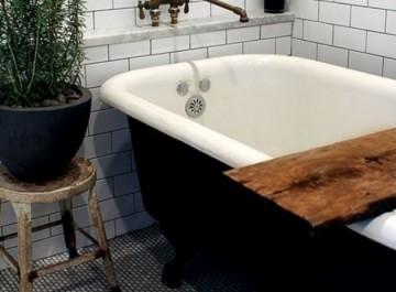 όλες οι ανέσεις στο μπάνιο σας με ένα ξύλο