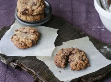 Cookies σοκολάτας (μπισκότα με κομματάκια σοκολάτας)