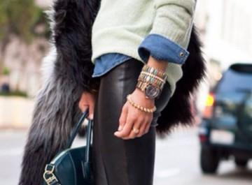 Πώς φοριέται το δερμάτινο παντελόνι