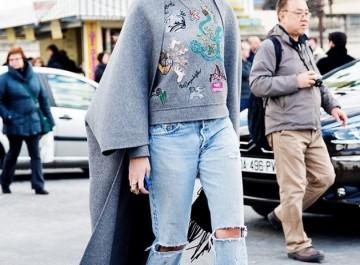 Πώς φοριέται το ripped jeans (σκισμένο τζιν)