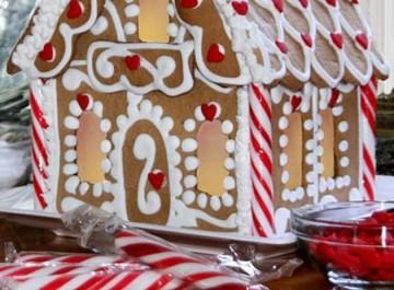 Πώς θα φτιάξετε ζαχαρωτά σπιτάκια για τις γιορτές