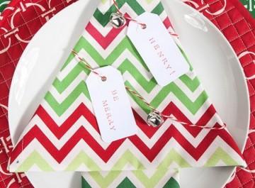 Γιορτινές ιδέες για τις πετσέτες σας!