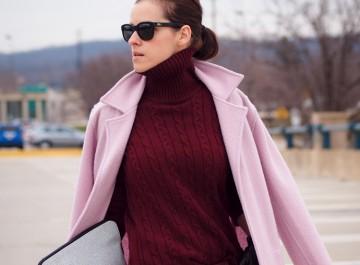 Τα χρώματα του χειμώνα 2016: Πώς φοράμε μπορντώ και βουργουνδί