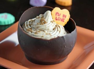 Πώς θα φτιάξετε μπολ από αληθινή σοκολάτα