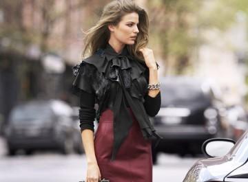 15 τρόποι για να φορέσετε τη δερμάτινη φούστα σας και οι νέες τάσεις