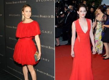 Πώς φοράνε οι σταρ το κόκκινο φόρεμα στο ρεβεγιόν;