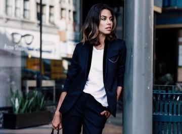 10 fashion τρόποι για να φορέσεις το μαύρο σακάκι σου