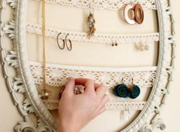 Οργανώστε τέλεια τα κοσμήματά σας, με δικές σας κατασκευές