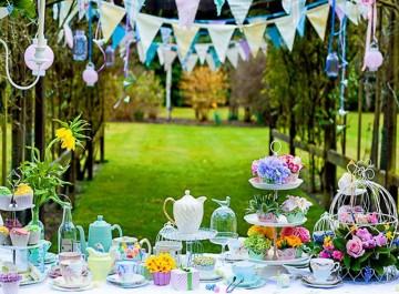 Ιδέες για πάρτυ στον κήπο!