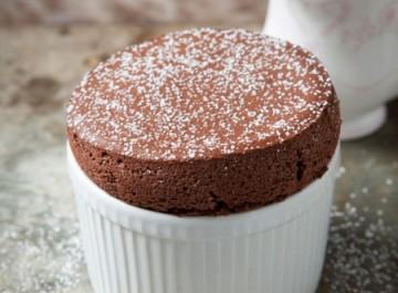 Eύκολο σουφλέ σοκολάτας (συνταγή)