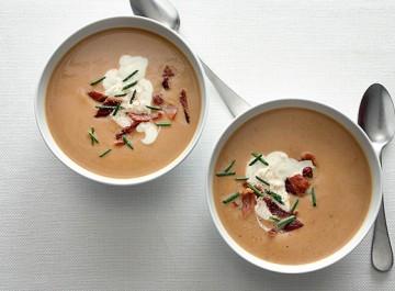 Σούπα κάστανου (εύκολη συνταγή)