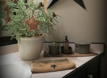Χριστουγεννιάτικη διακόσμηση: Πώς θα διακοσμήσουμε το μπάνιο;