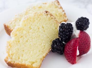 Εύκολο κέικ λεμονιού (συνταγή)