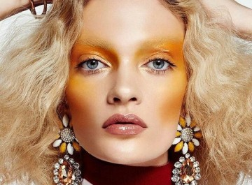 Kίτρινο blush στα μάγουλα: Η πιο τρελή, νέα τάση στο μακιγιάζ της άνοιξης