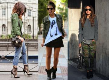 10 military looks: Υιοθέτησε το πιο στιλάτο ντύσιμο, για πρωί και βράδυ