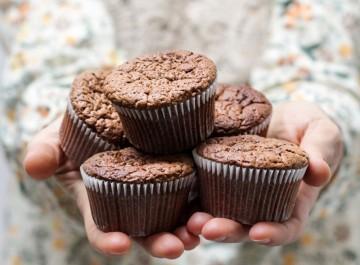 Λαχταριστά μάφιν σοκολάτας στα γρήγορα