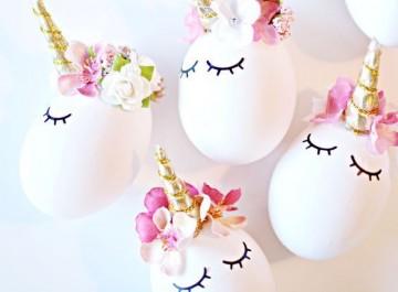 10 απίθανες ιδέες για να διακοσμήσετε τα πασχαλινά αυγά