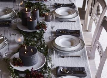 Χριστουγεννιάτικο art de la table για κάθε γούστο