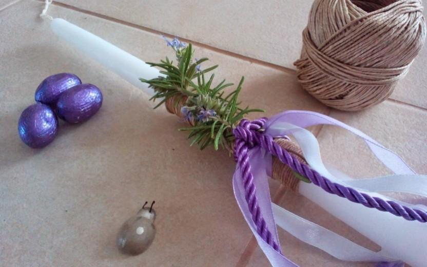 10 πασχαλινές ιδέες:  Φτιάξε μόνη σου τη λαμπάδα σου (DIY)