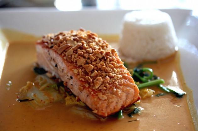 salmon fistikia